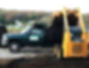 Image pickup truck and loader, Wright Landscape