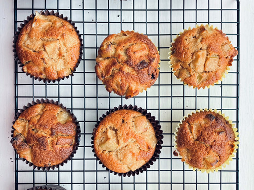 Recipe: Old Library Cafe Apple & Cinnamon Muffins