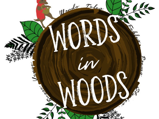 Announcing: WORDS IN WOODS