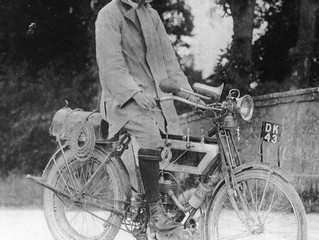 The Motorcycling Clergyman of St Wenn