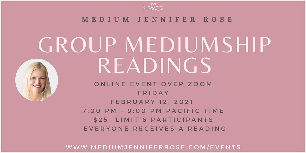 Group Mediumship Readings
