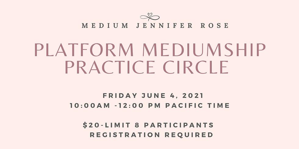 Platform Mediumship Practice Circle