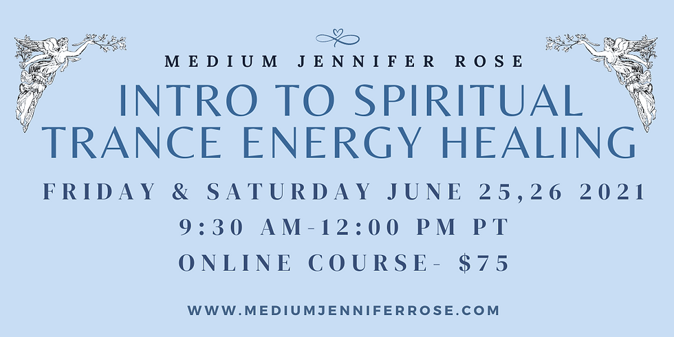 Introduction to Spiritual Trance Energy Healing