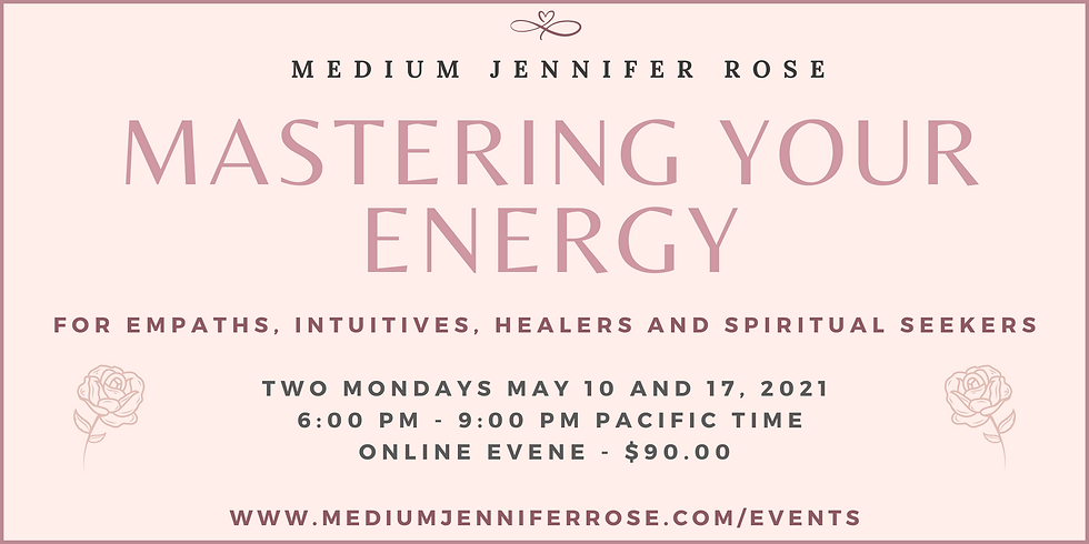 Mastering Your Energy