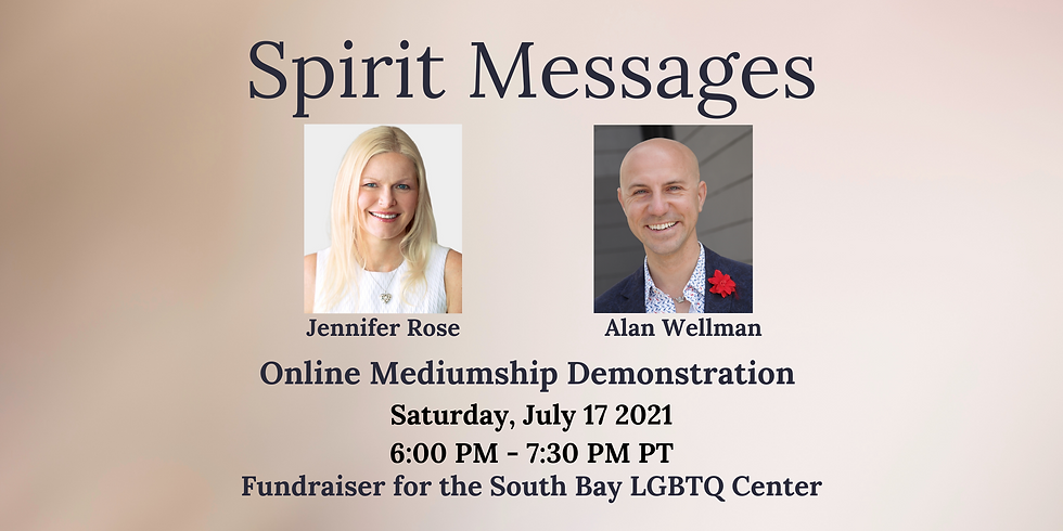 Demonstration of Mediumship: Save the South Bay Center Fundraiser
