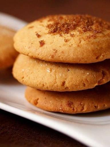 Gingerbread Joni Cookies (Eggless & Whol