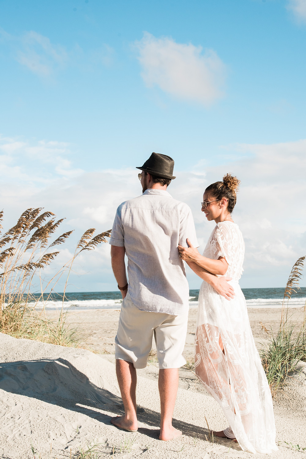 Family Beach Pictures Outfits-Andrea Kinnear Photography-Charleston Photographers