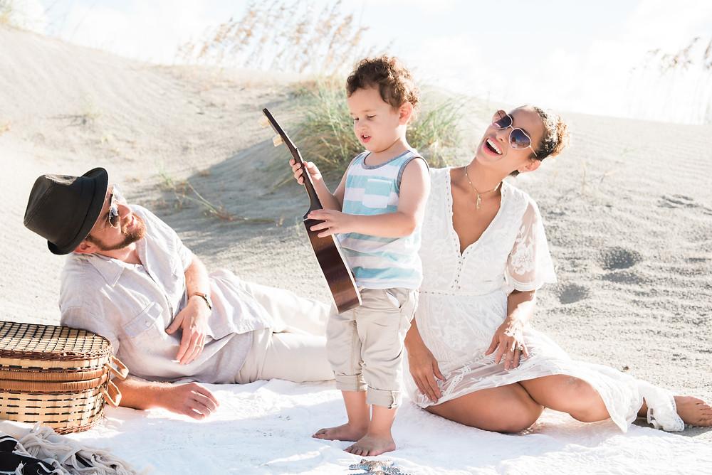 Family Beach Photos-Andrea Kinnear Photography-Charleston Photographers