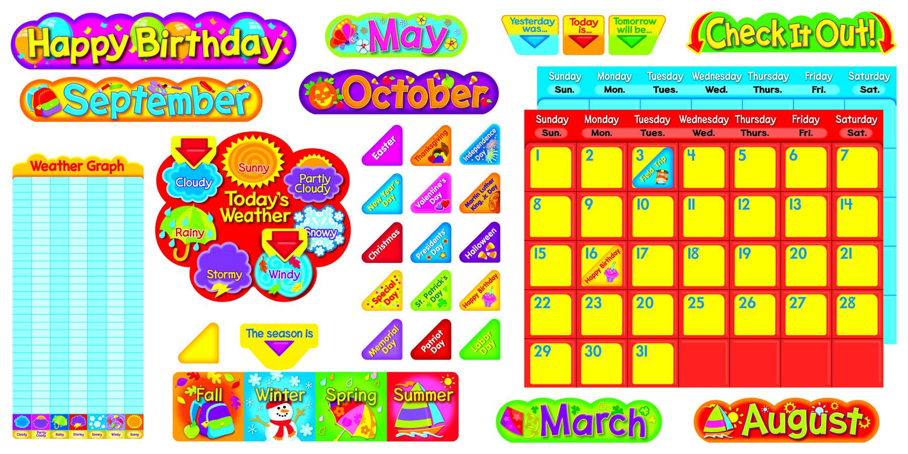 Calendarios de clase