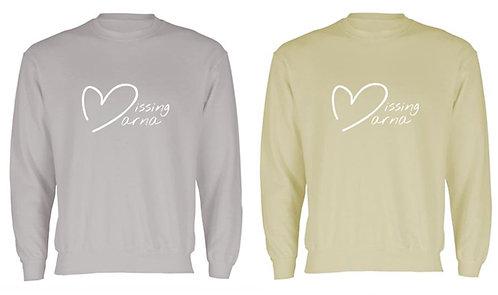 Missing Marna Sweatshirt (Large Logo)
