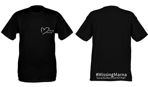 Missing Marna T-Shirt (Large Logo)