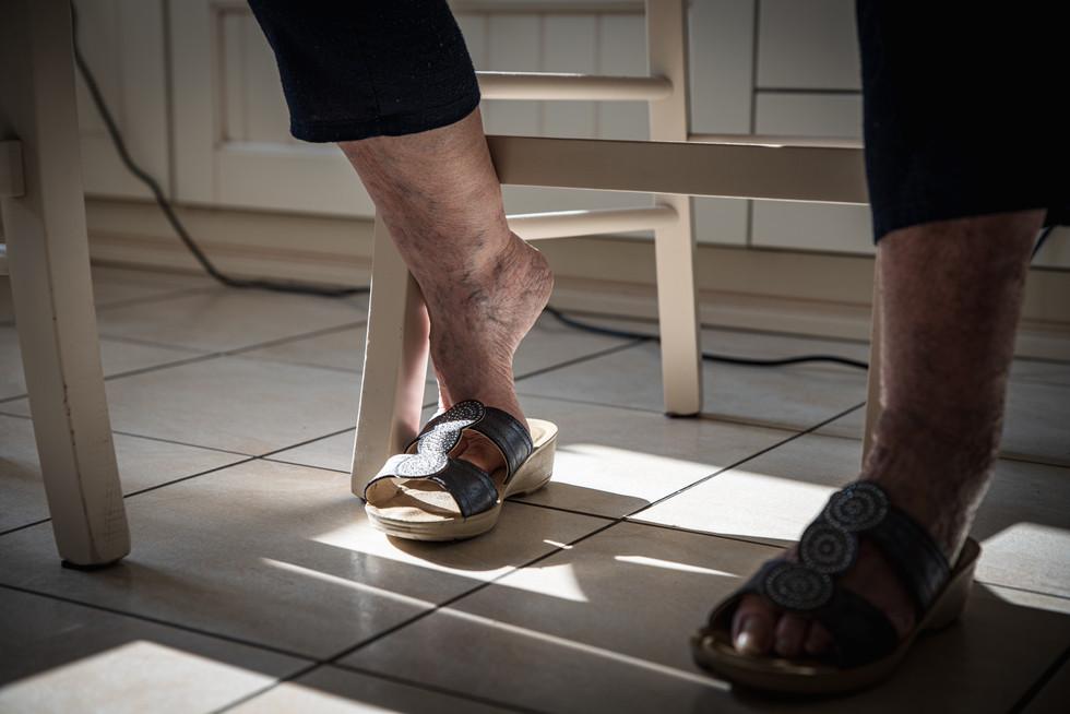 80 years old feet