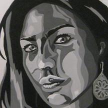 Self Portrait in Grey Scale