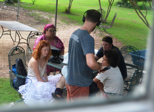 """""""Only Human"""" the Movie filming at the Flanagan House Bed and Breakfast in Murfreesboro NC"""