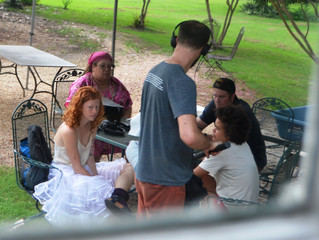 """Only Human"" the Movie filming at the Flanagan House Bed and Breakfast in Murfreesboro NC"