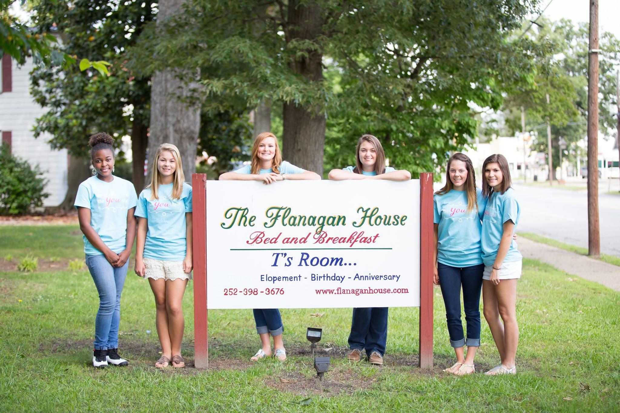 Senior reps at the Flanagan House