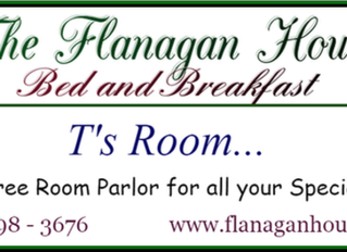 Welcome Chowan University students from the Flanagan House Bed and Breakfast