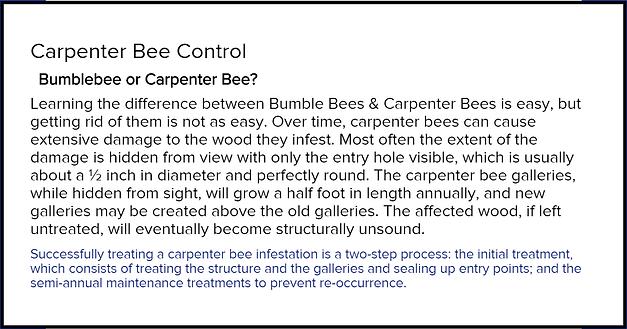 Vaughans Carpenter Bee Control Ahoskie.p
