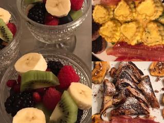 A Bed & Breakfast breakfast!