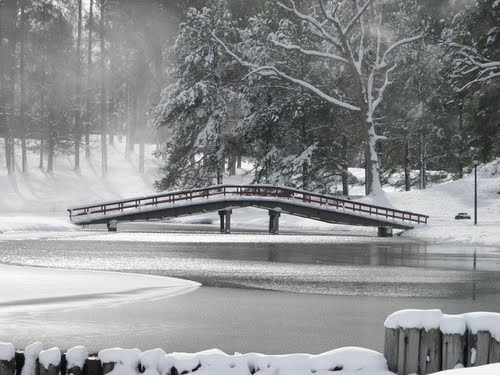 Chowan Bridge in Winter