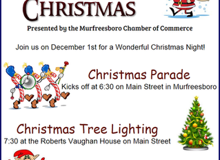 Christmas comes early in Murfreesboro North Carolina