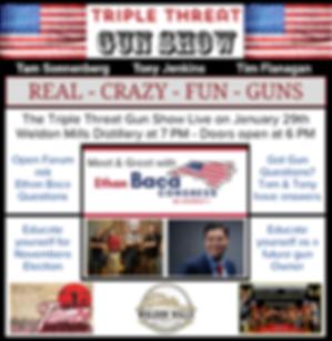 January 29th Gun Show