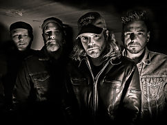 Boogie Beasts new band pic black white 2