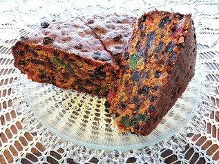 Gluten Free Christmas Fruit Loaf