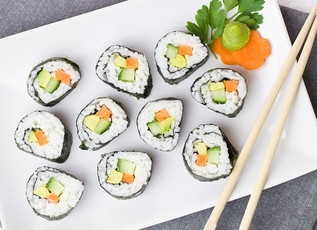 Quinoa Sushi – Great for little lunchboxes