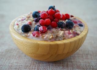 Protein Packed Quinoa Porridge
