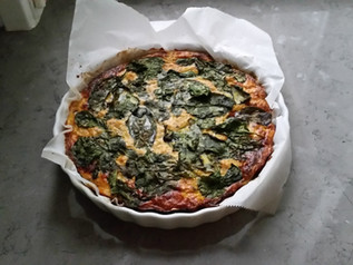Quiche (Dairy and Gluten Free) Delicious