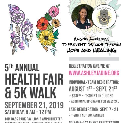5th Annual Health Fair and 5K Walk