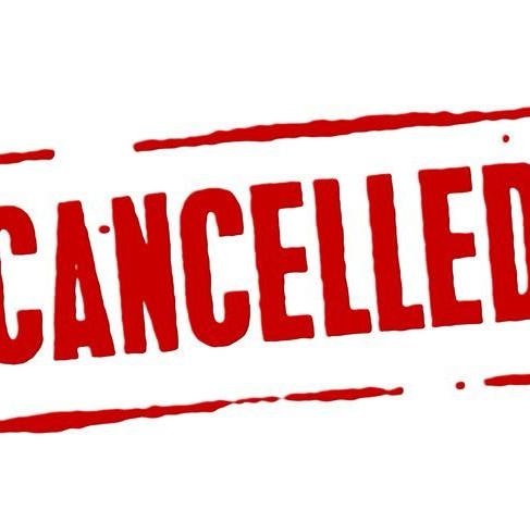 General Membership Meeting Cancelled