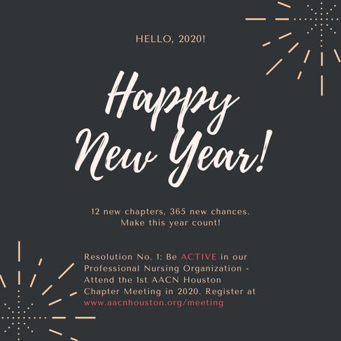 Hello, 2020! Happy New Year!
