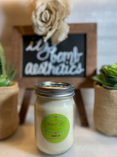 Summer Joy Soy Candle-12oz