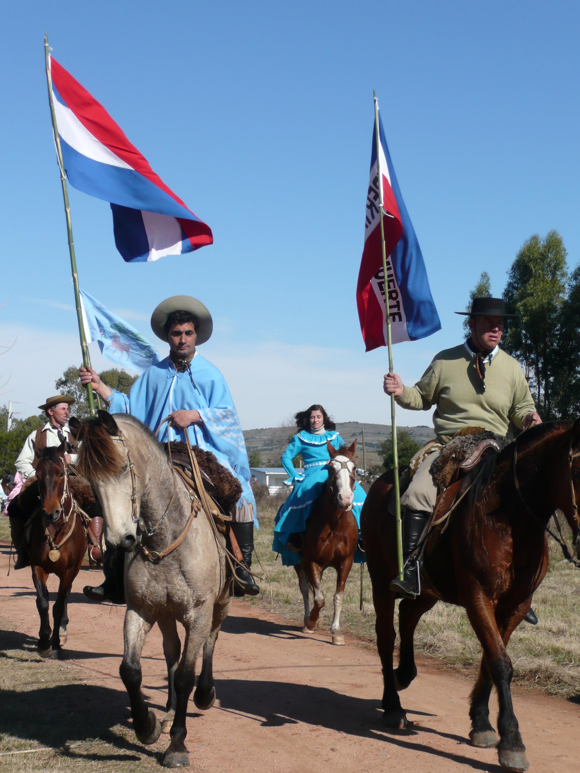 Desfile fiesta del Pueblo