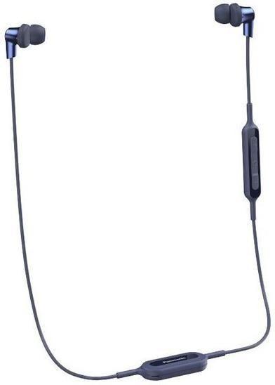Black wireless earphones