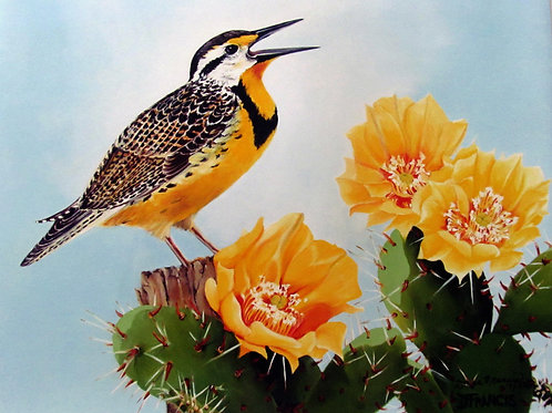 Song of the Meadowlark ~ PRINT