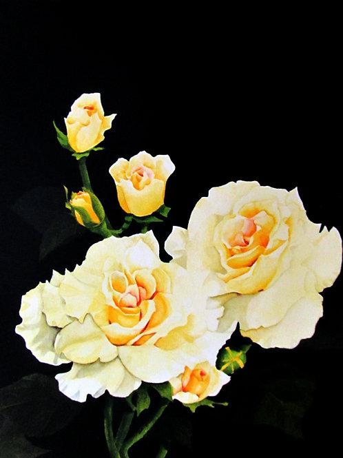 Beautiful Yellow Roses ~ PRINT