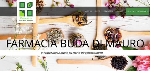 Comunicazione Visuale Farmacia Buda