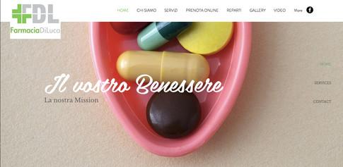 Comunicazione Visuale Farmacia Di Luca