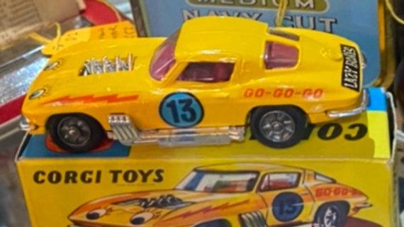 Boxed Vintage Corgi Corvette