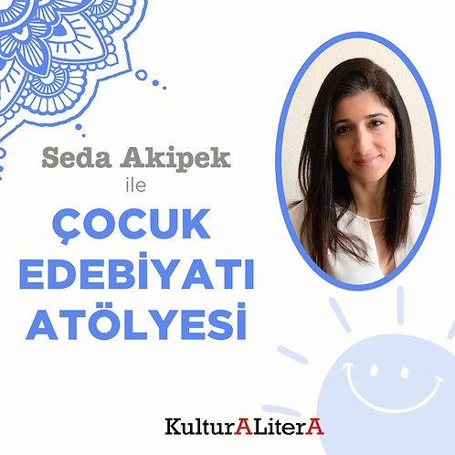 Seda Akipek ile Çocuk Edebiyatı Atölyesi Bilet