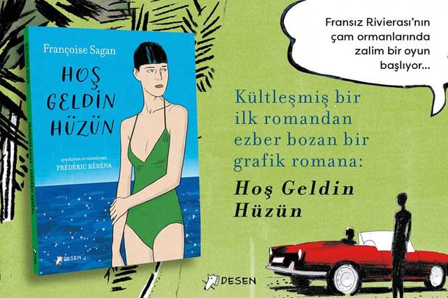 Sagan'ın ilk romanının grafik roman uyarlaması Türkçede