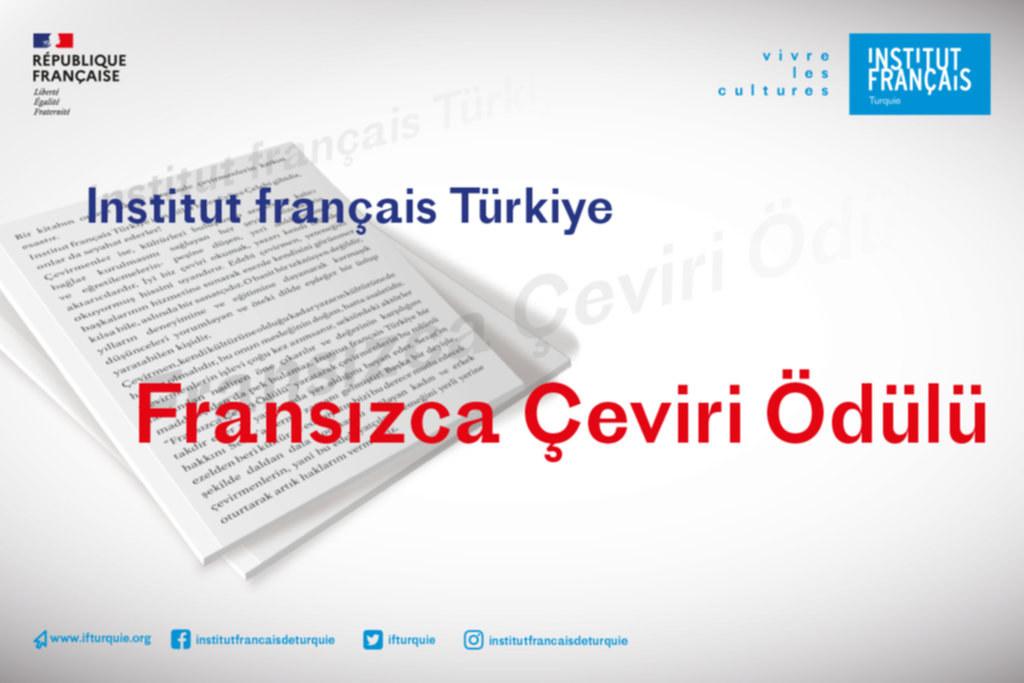 Istitut français Türkiye'den Fransızca çeviri ödülleri
