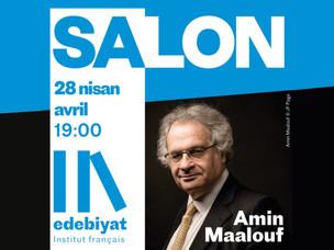 Amin Maalouf ile çevrimiçi edebiyat buluşması