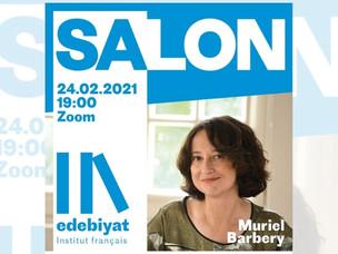 Çevrimiçi Etkinlik: Muriel Barbéry, Institut français Türkiye'nin konuğu oluyor