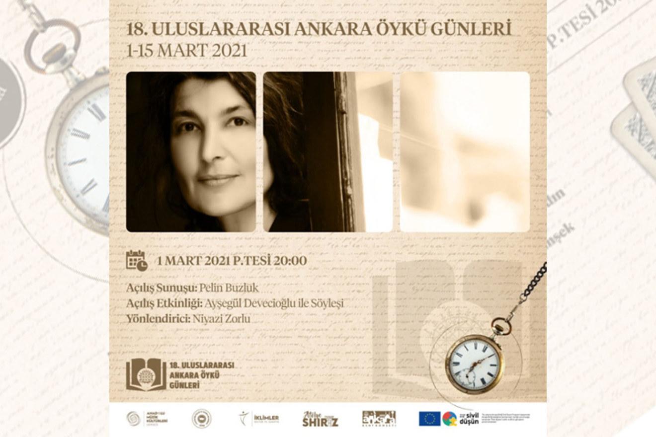 18. Uluslararası Ankara Öykü Günleri programı belli oldu