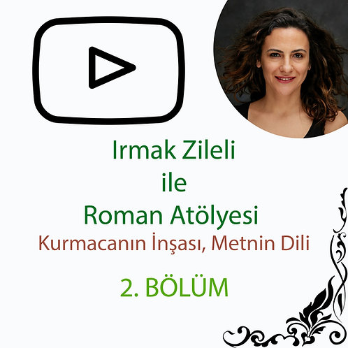 Irmak Zileli ile Roman Atölyesi - Kurmacanın İnşası, Metnin Dili - 2. Bölüm