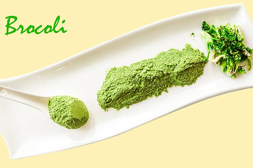 Polvo liofilizado de brócoli crudo